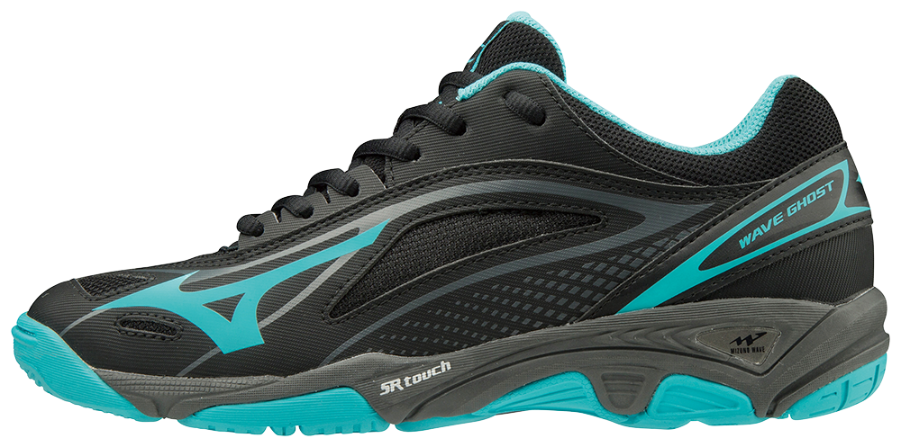 Mizuno Wave Ghost BlackBlueCaracaoDarkShadow